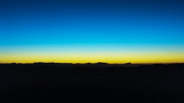 朝と夜のイメージ