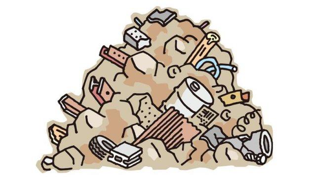 夢占い ゴミ