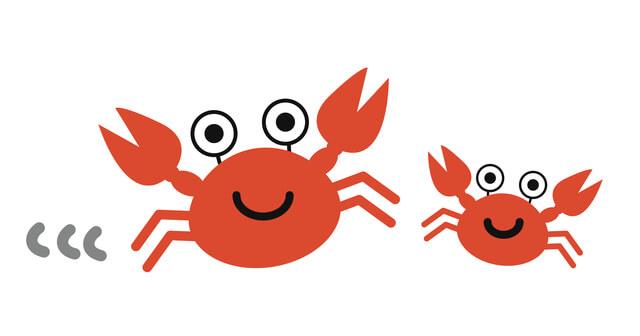 夢占い 蟹(カニ)