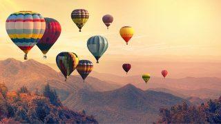 夢占い 気球