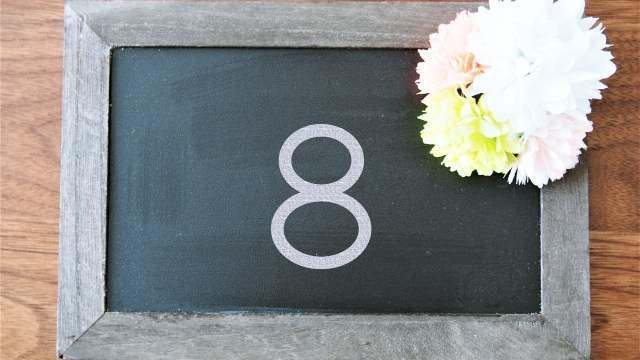 8の数字スピリチュアルパワー