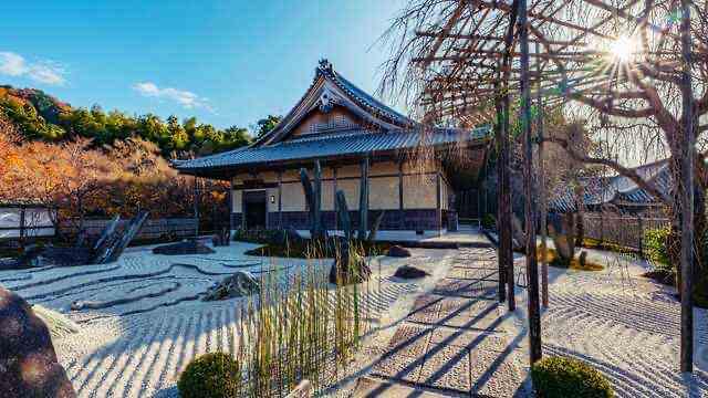 京都 ,座禅