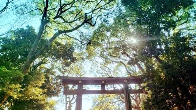 パワーストーン,神社
