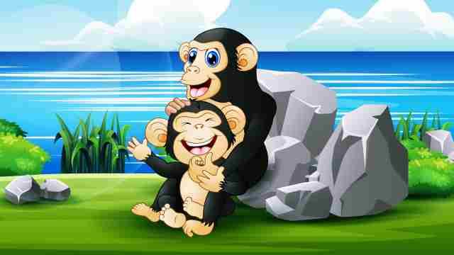 夢占い チンパンジー