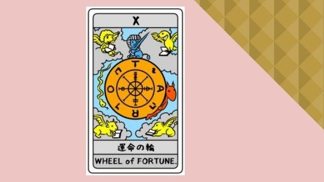 タロットカード 運命の輪