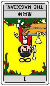 タロット 魔術師(逆位置)