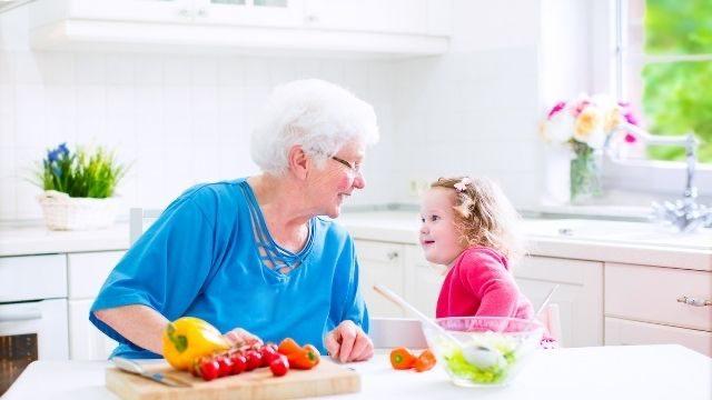 夢占い,祖母