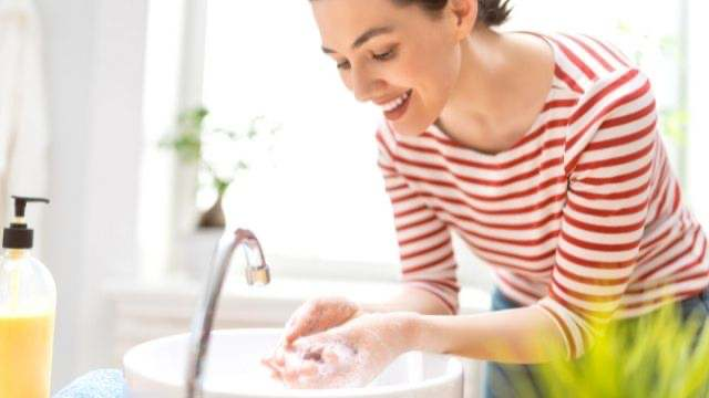夢占い,手を洗う